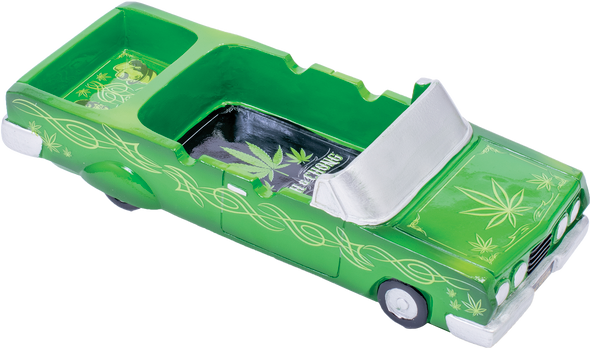 Cheech & Chong Lowrider Ashtray with Storage Trunk [CCAT1] (MSRP $ 29.99)