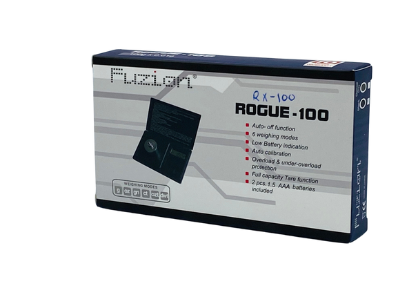 Fuzion Scale 100g x 0.01g [RX-100] (MSRP $14.99)