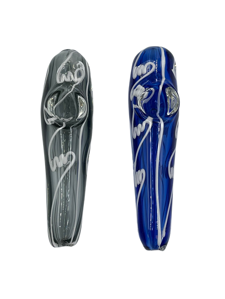 """4"""" Embroidary Art Hand Pipe (Pack of 2) [SDK428] (MSRP $14.99)"""