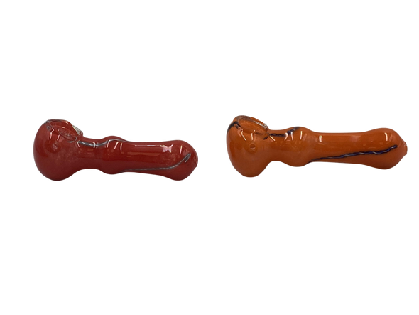 """4"""" Mix Frit Art Hand Pipe (Pack of 2) [SDK448] (MSRP $14.99)"""
