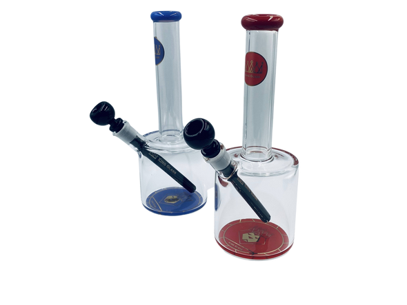 """12"""" """"King Glass"""" Can Water Pipe [54557] (MSRP $159.99)"""