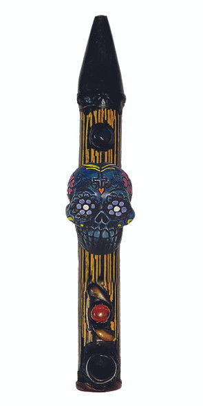 Hand Crafted Bamboo Peace Pipe - (MSRP $ 39.99)