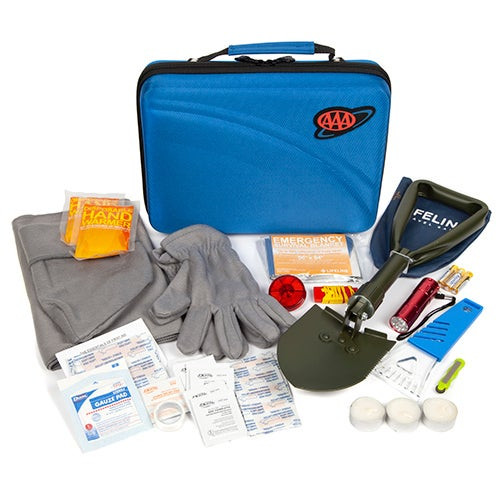 66pc Severe Weather Emergency Road Kit