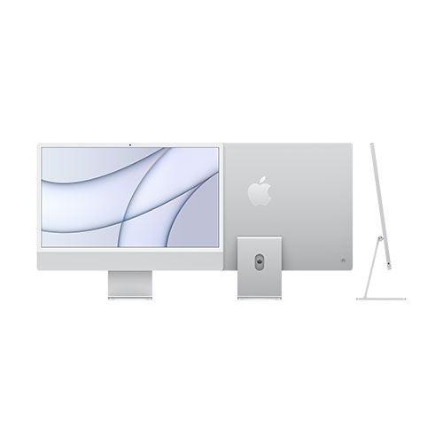"24"" iMac w/ 4.5K Retina Display 8-Core CPU 8-Core GPU 256GB SSD - Silver"