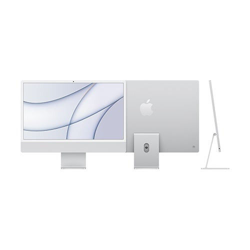 "24"" iMac w/ 4.5K Retina Display 8-Core CPU 7-Core GPU 256GB SSD - Silver"