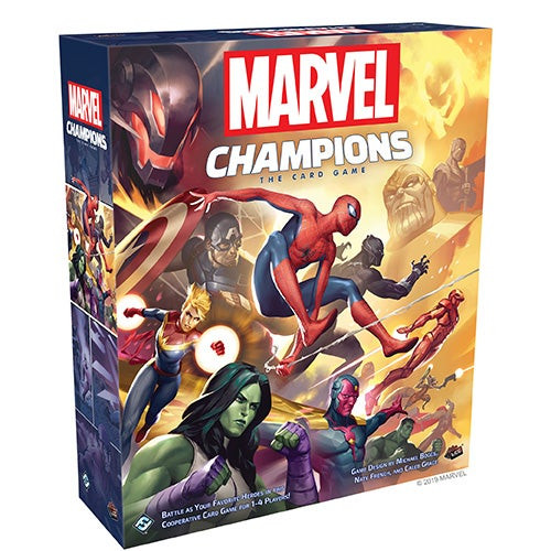 Marvel Champions: The Card Game Ages 14+ Years