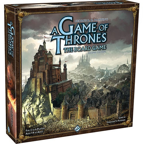 A Game of Thrones Board Game: 2nd Edition Ages 14+ Years