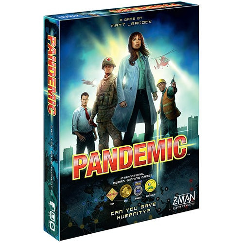 Pandemic Board Game Ages 8+ Years