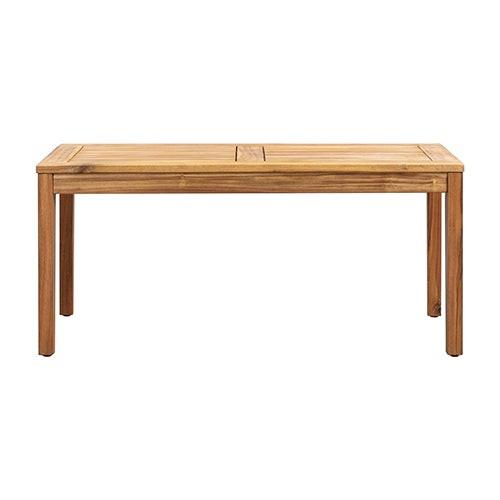 Kingsmen Wooden Coffee Table