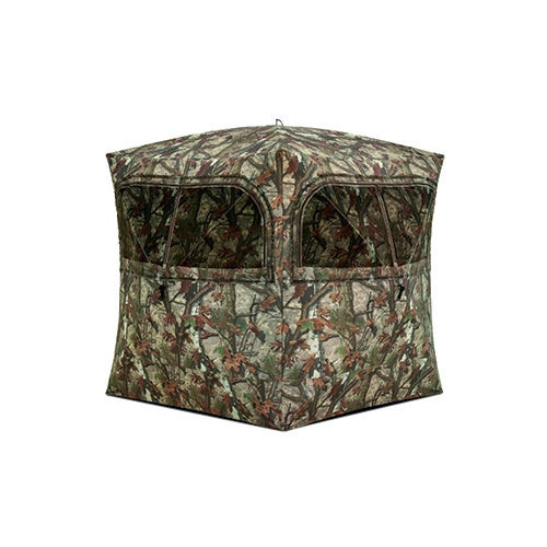 Grounder 350 Hunting Blind w/ Bloodtrail Woodland Camo