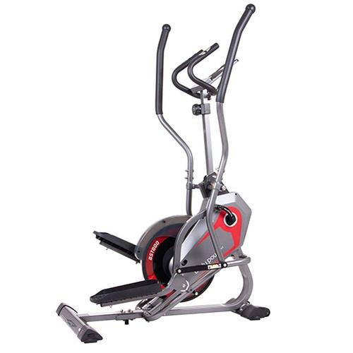 Body Power StepTrac Elliptical Stepper Workout Trainer w/ Curve-Crank