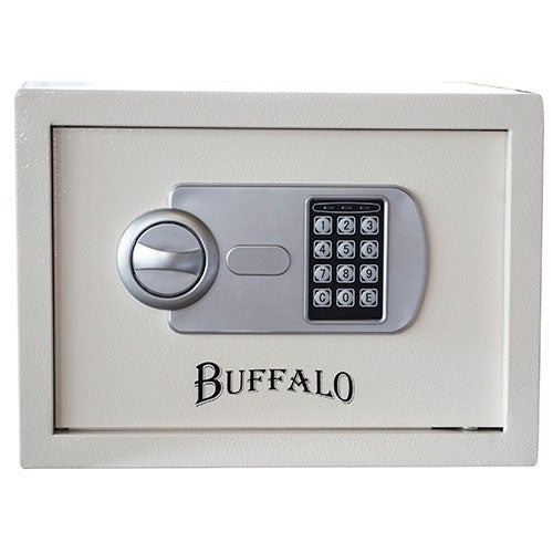 Personal Safe w/ Keypad Lock Beige