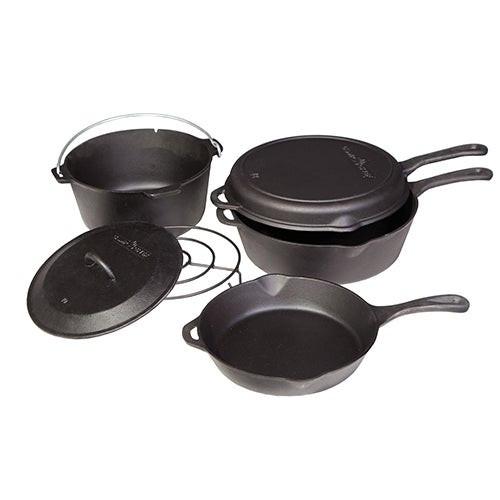 6pc Cast Iron Cookware Set