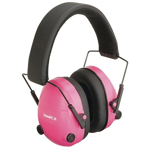 Traps and Targets Electronic Sound Dampening Ear Muffs Pink