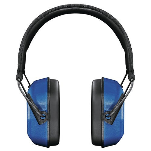 Vanquish Electronic Hearing Protection Ear Muffs Blue