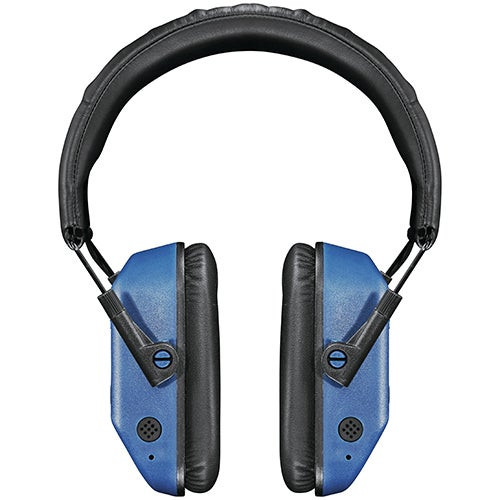 Vanquish Pro Electronic Hearing Protection Ear Muffs Blue