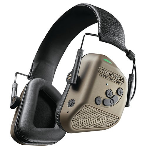 Vanquish Pro Elite Electronic Hearing Protection Ear Muffs Gold