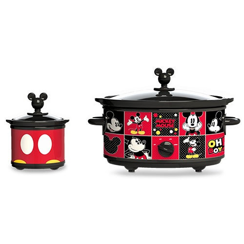 Mickey Mouse Slow Cooker w/ 20oz Dipper