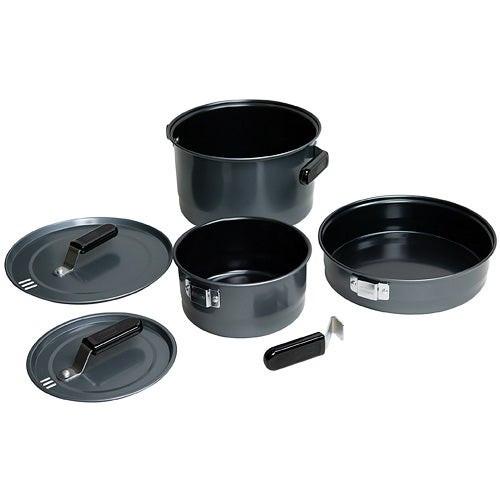6pc Family Cook Set Black