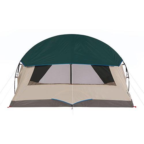 6-Person Cabin Tent w/ Screened Porch Evergreen