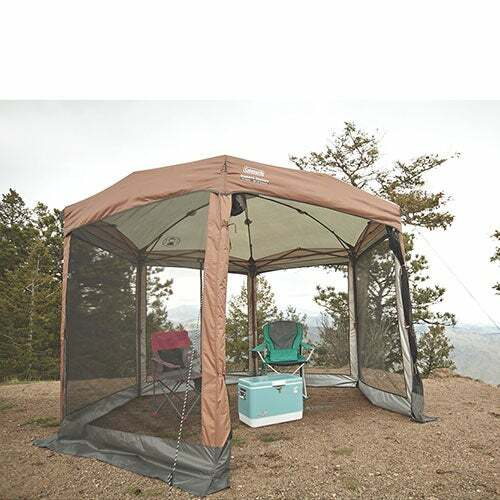 Screened Canopy Sun Shelter 12ft x 10ft