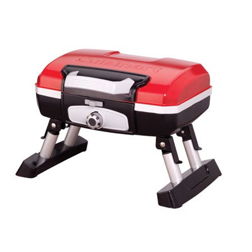 Portable Tabletop Gas Grill Red