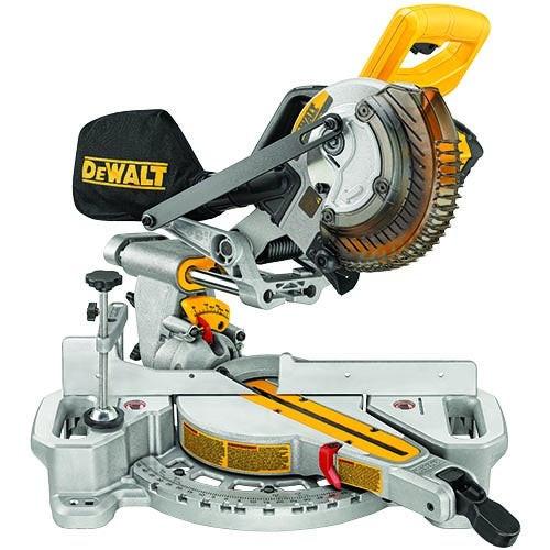 20V MAX 7-1/4 Sliding Miter Saw w/ Battery & Charger