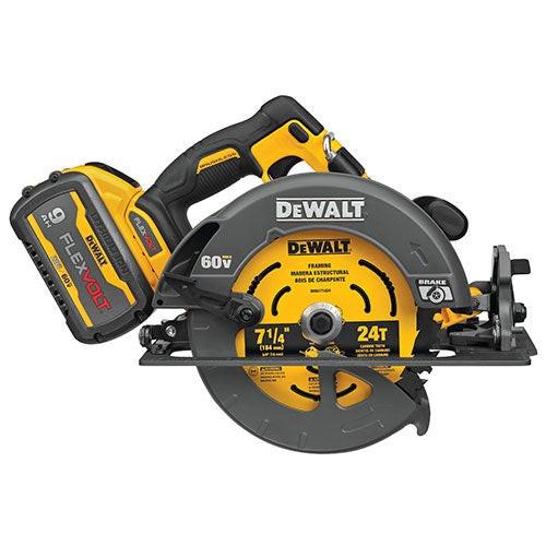 "FLEXVOLT 60V MAX 7.25"" Circular Saw Kit w/ 1 Battery"