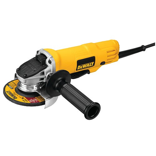 """4.5"""" 7 Amp Paddle Switch Small Angle Grinder"""