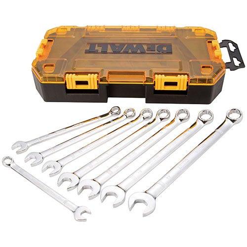 8pc Tough Box Metric Wrench Set