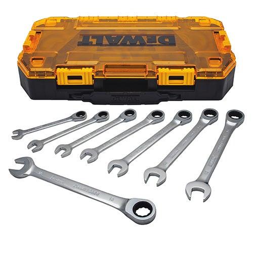 Tough Box 8pc MM Ratcheting Wrench Set