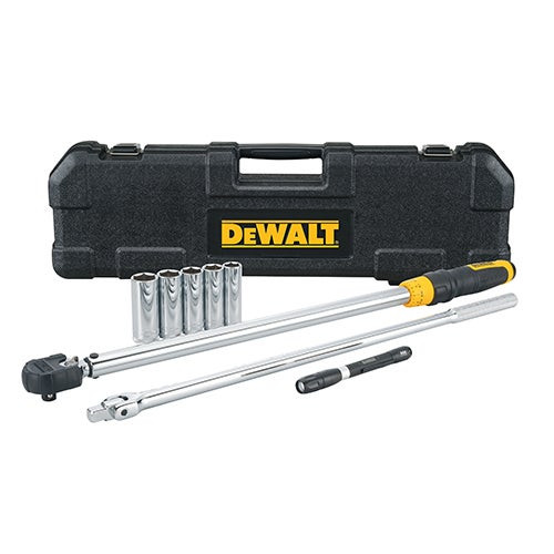 """8pc 1/2"""" Direct Torque Wrench Tire Change Kit"""