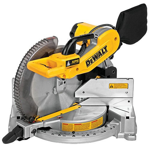 """15 Amp 12"""" Double Bevel Compact Miter Saw w/ Cutline"""