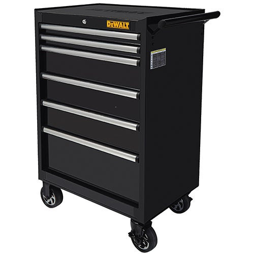 """26"""" 6-Drawer Rolling Cabinet"""