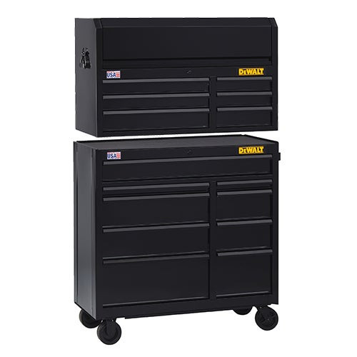 """41"""" 9-Drawer Roller Cabinet w/ 6-Drawer Top Chest"""