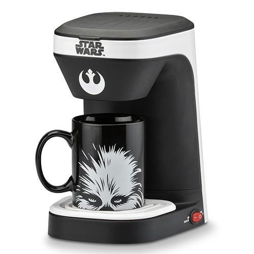 Star Wars Chewbacca Coffeemaker w/ Mug