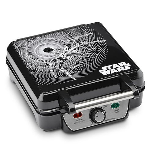 Star Wars Waffle Maker w/ Temperature Control