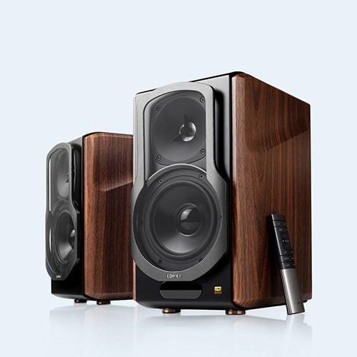 2.0 Hi-Res Bluetooth Bookshelf Speaker System