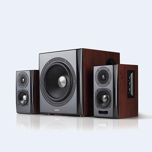 S350DB Bluetooth Bookshelf Speakers w/ Subwoofer