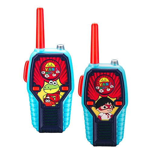 Ryan's World Deluxe FRS Walkie Talkies, Ages 3+ Years