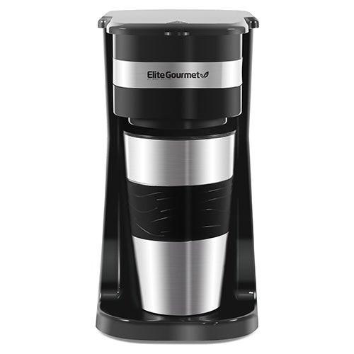 Gourmet 1 Cup Single Serve Coffeemaker w/ Travel Mug