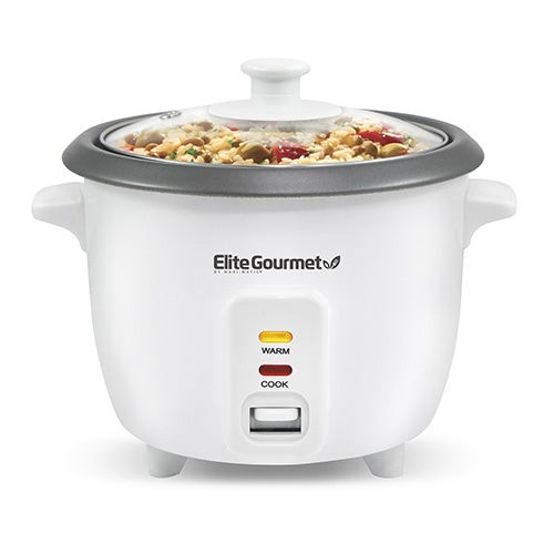 Cuisine 6 Cup Rice Cooker w/ Steam Tray