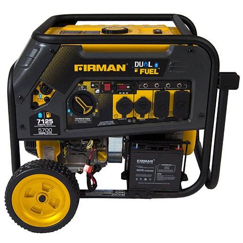 Dual Fuel 5700 Watt Generator