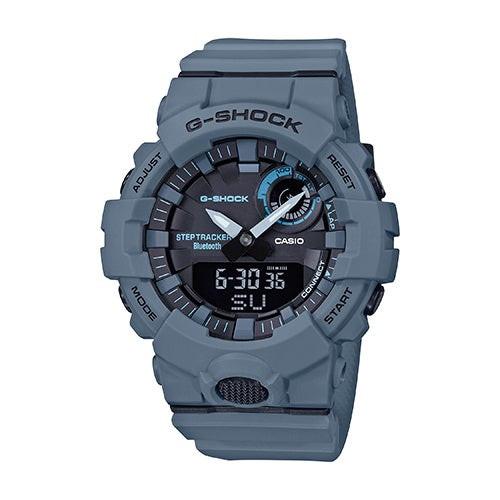 Mens Power Trainer Bluetooth Ana/Digi Watch Gray Blue
