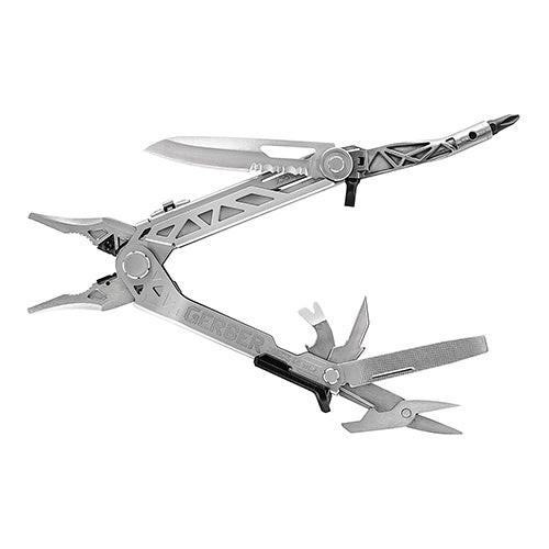 Center-Drive Stainless Multi Tool w/ Belth Sheath