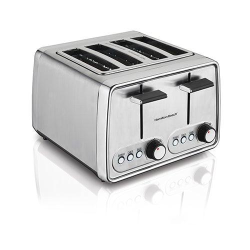 Modern Chrome 4 Slice Toaster