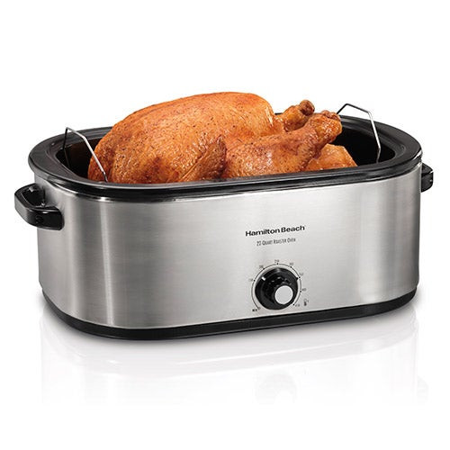 Stainless Steel 22 Qt Roaster Oven