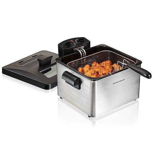 Professional-Style Deep Fryer w/ Double Basket