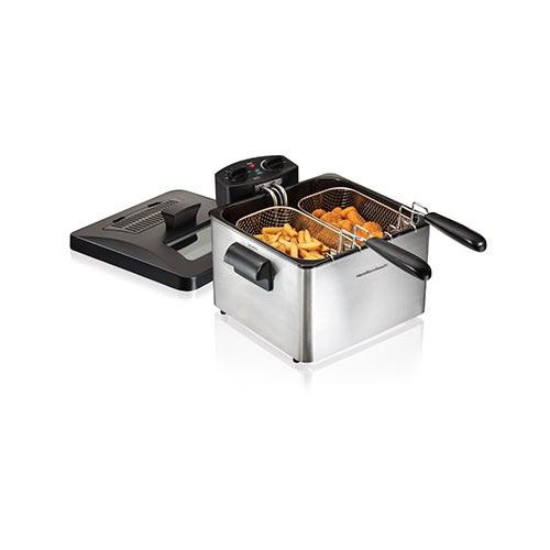Electric Deep Fryer 3-Liter Oil Capacity