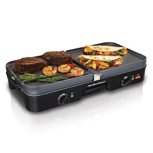 3-in-One Grill/Griddle